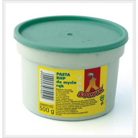 Pasta BHP Mydlano-Piaskowa 0,5 kg puszka
